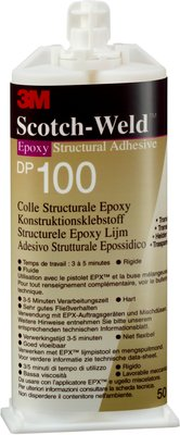 3M™ Scotch-Weld™ Клей Эпоксидный Двухкомпонентный DP100