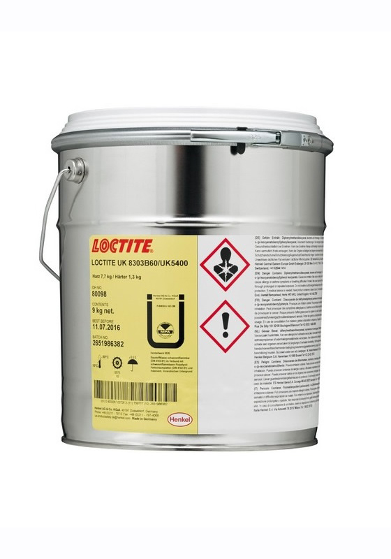 Loctite UK 8303 combi Macroplast. 2х компонентный жидкий клей